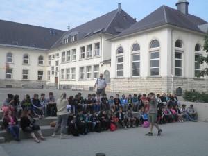 photo échanges scolaires 2015