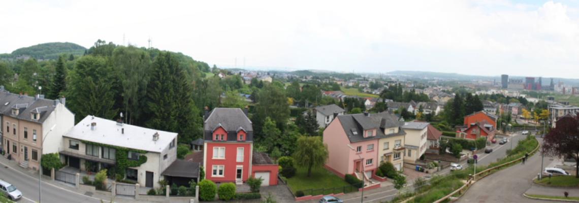 photo panoramique de Sanem (L)